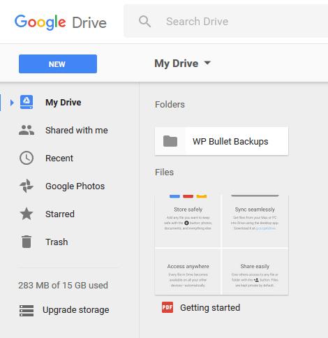 Automatically Back up WordPress to Google Drive WP-CLI Bash