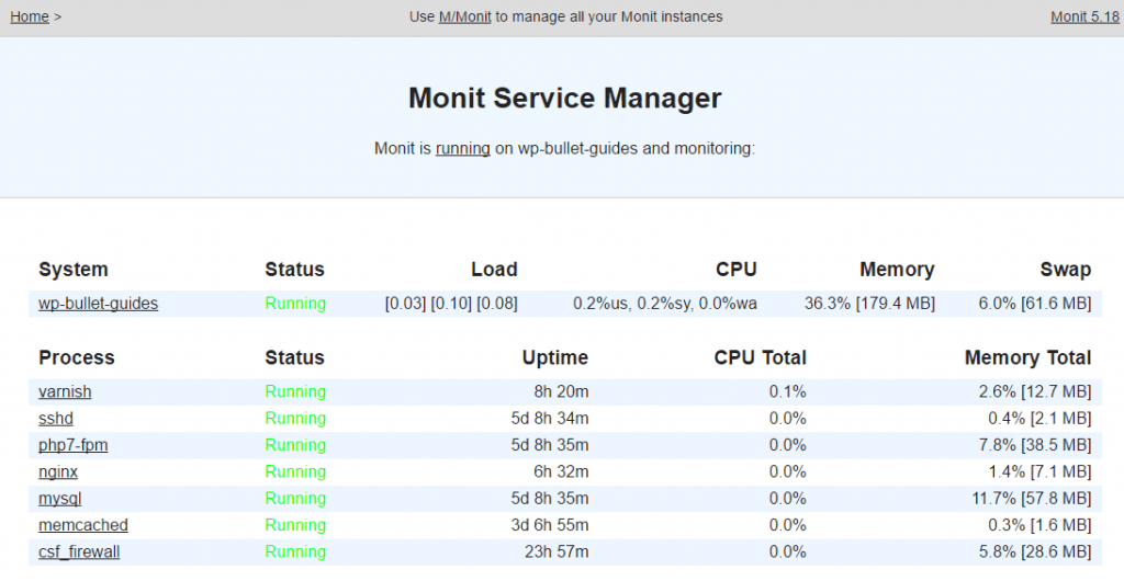 Use Monit to Monitor + Restart MySQL Service Automatically •
