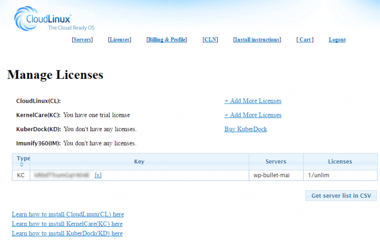 cloudlinux-find-kernelcare-key