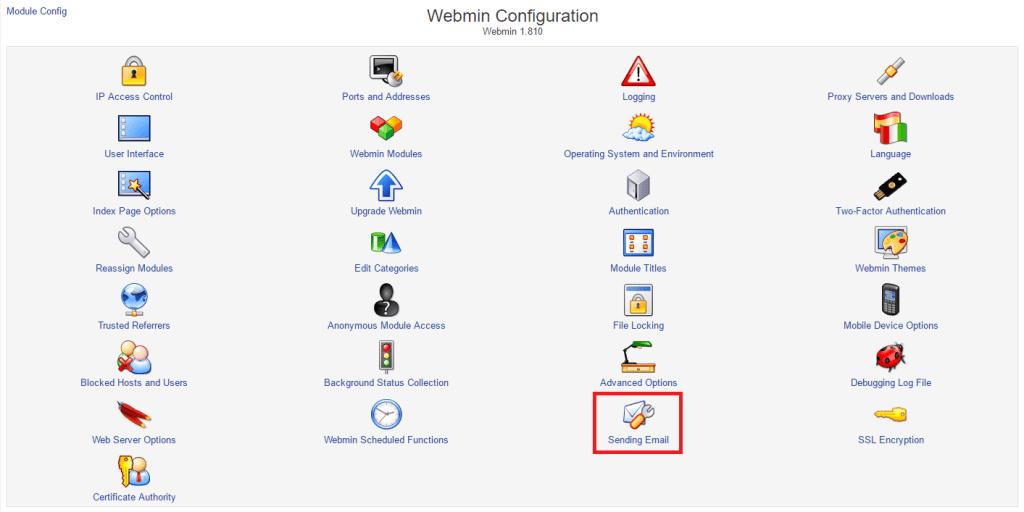 Configure Webmin Email Alerts with Mailgun •