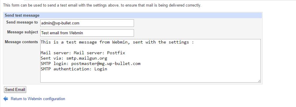 webmin-email-configuration-send-test-message